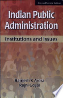 Indian Public Administration