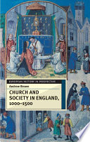 Church And Society In England 1000 1500
