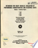Retarders for Heavy Vehicles  Technical report