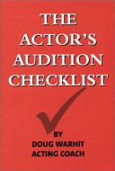 The Actor's Audition Checklist