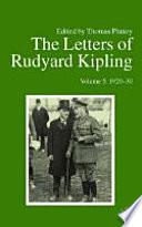 The Letters of Rudyard Kipling: 1920-30