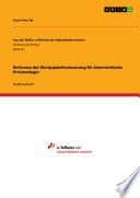 Reformen der Wertpapierbesteuerung für österreichische Privatanleger