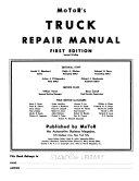 Motor's Truck Repair Manual