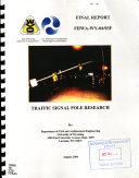Traffic Signal Pole Research