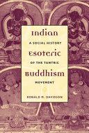 download ebook indian esoteric buddhism pdf epub