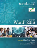 Exploring Microsoft Word 2016 Comprehensive