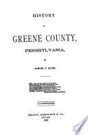 History of Greene County  Pennsylvania