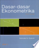 DASAR-DASAR EKONOMETRIKA, jilid 1