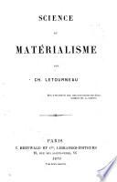 Science et matérialisme