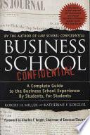 Business School Confidential