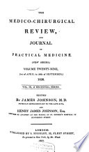 The Medico Chirurgical Review And Journal Of Medical Science