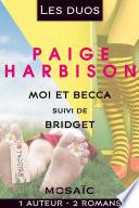 Les duos   Paige Harbison  2 romans