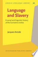 Language and Slavery