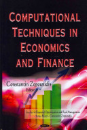 Computational Techniques in Economics and Finance