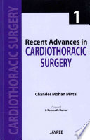 Recent Advances In Cardiothoracic Surgery 1