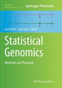 Statistical Genomics: Methods and Protocols