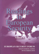 Readings in European Security