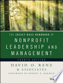 The Jossey Bass Handbook of Nonprofit Leadership and Management