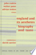 England and Its Aesthetes