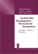 Sustainable Development - the Cultural Perspective