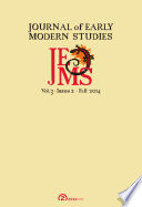 Journal of Early Modern Studies   Volume 3  Issue 2  Fall 2014