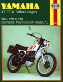 Yamaha Xt Tt And Sr 500 Singles Owners Workshop Manual No 342