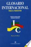 Glosario internacional para el traductor