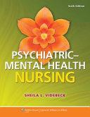 Lippincott s Manual of Psychiatric Nursing Care Plans  9th Ed    Psychiatric Mental Health Nursing  6th Ed    PrepU 12 Month Access Code