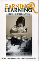 Earning and Learning Book
