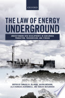 The Law of Energy Underground