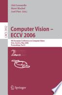 Computer Vision Eccv 2006 book