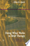 Doing What Works In Brief Therapy : therapy is a guidebook to strategic solution...