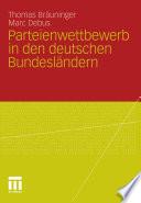 Parteienwettbewerb in den deutschen Bundesländern