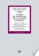 Curso de Derecho de la Uni  n Europea
