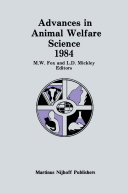 Advances in Animal Welfare Science 1984