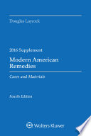 Modern American Remedies Cases and Materials
