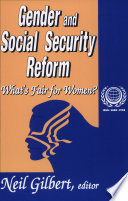 Ebook Gender And Social Security Reform Epub Neil Gilbert Apps Read Mobile