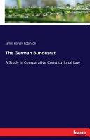 The German Bundesrat