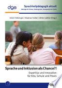 Sprache und Inklusion als Chance?!