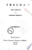 Imelda  Tragedia di Gabriele Sperduti