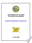 Detainee Operations Inspection