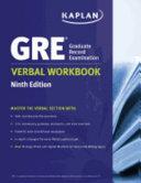 GRE Verbal Workbook