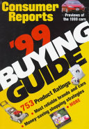 Consumer Reports 1999 Buying Guide