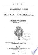 Teacher s book of mental arithmetic   7 pt  in 1 vol