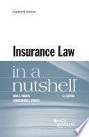 Insurance Law in a Nutshell