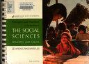 Social sciences  concepts and values