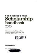 Scholarship Handbook 2005