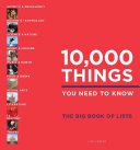10 000 Things You Need to Know Book PDF