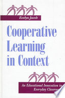 Cooperative Learning in Context