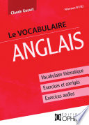 Le vocabulaire anglais Vocabulaire th  matique